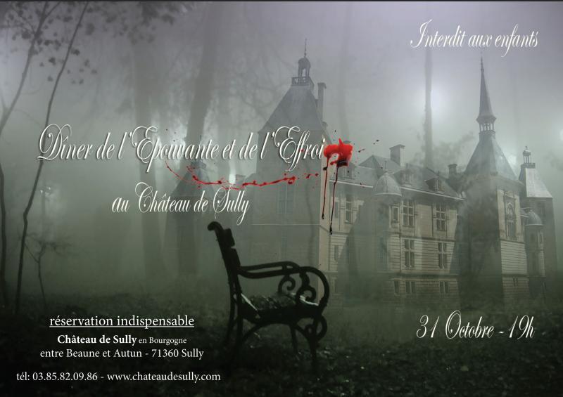 Soirée Halloween au château de Sully