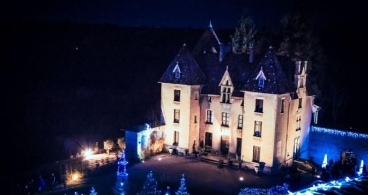 Le Château de Couches revêt ses habits de lumière pour les fêtes de fin d'année